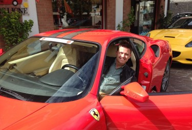 Test Drive Ferrari in Maranello