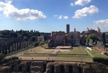 Colosseum Underground Tour View