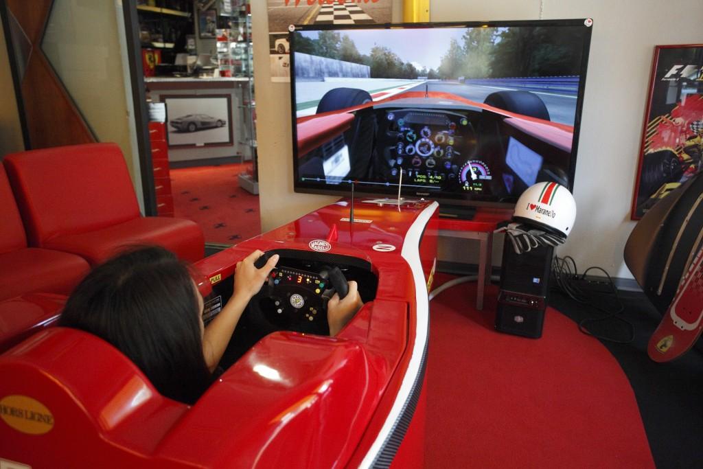 Ferrari Formula 1 Simulator