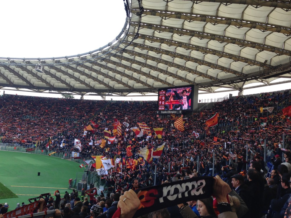AS Roma Tickets with VIP Hospitality - Olympic Stadium Rome