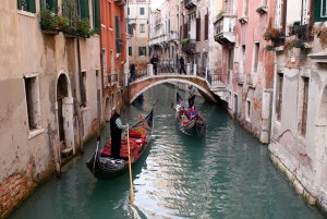 Gondola Ride Through Venice Canals
