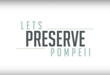 LivItaly Lets Preserve Pompeii