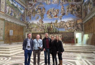 Early Entrance Vatican Museums Small Group Tour