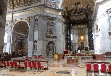 Vatican Early Entrance Small Group Tour - St Peter's Basilica