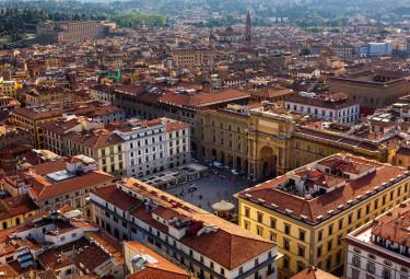 Piazza della Repubblica - Florence Small Group Walking Tour with David