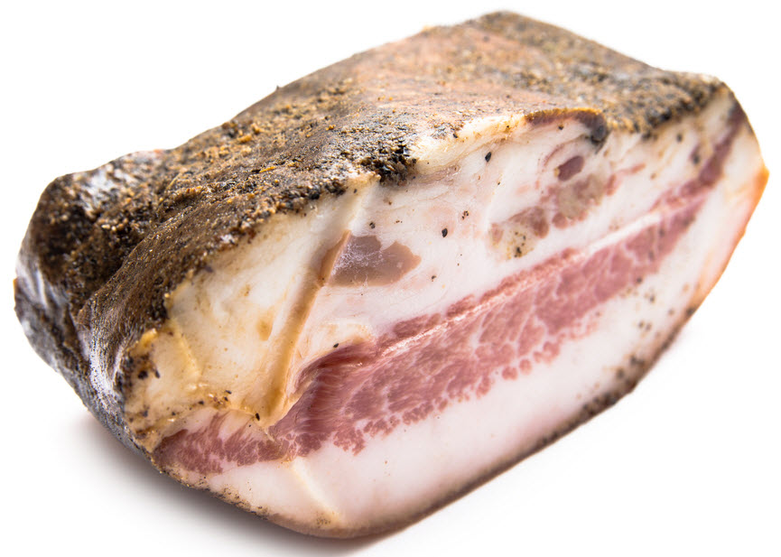 how to cook pancetta bacon
